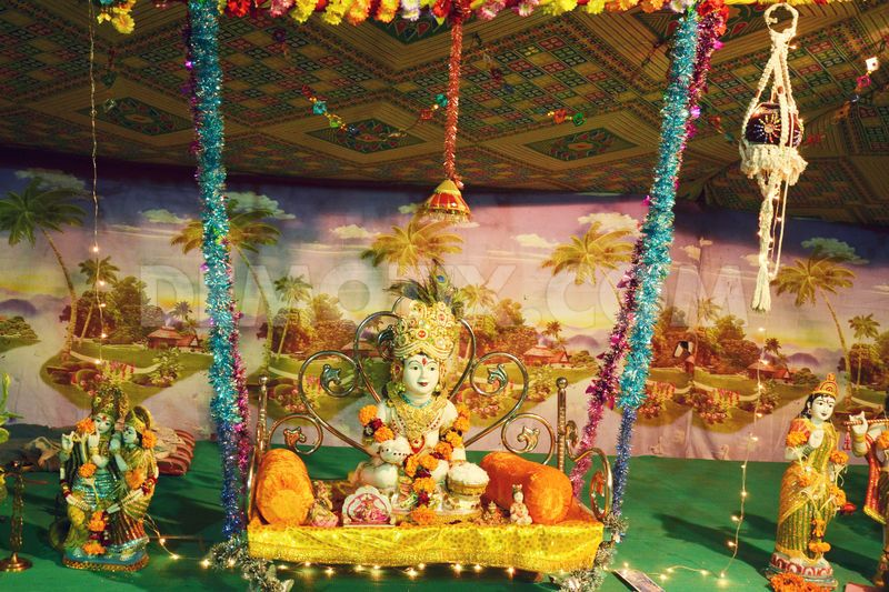 How To Decorate Home For Janamashtami